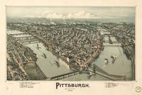 Vintage Pictorial Map of Pittsburgh PA (1902)