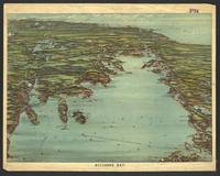 Vintage Pictorial Map of Buzzards Bay MA (1907)