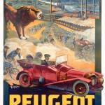 """Advertisement for Peugeot"" by fineartmasters"
