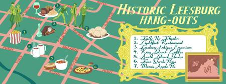 Historical Hang-Outs in Leesburg by Liz Parlett