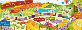 Napa Valley Marathon by Monika Roe