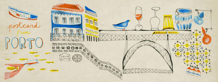 Postcard from Porto by Laura Fanelli laurafanelli