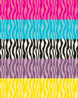 Pastel Zebra Patterns