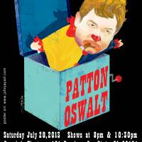 PATTON OSWALT LIVE Art Prints & Posters by John Jay Cabuay