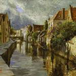 """On the Canals of Brugge"" by OlegTrofimoff"