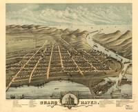 Vintage Pictorial Map of Grand Haven MI (1874)