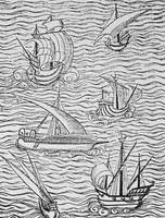 Vessels of Early Spanish Navigators