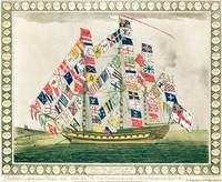 A King's Ship dressed with the colours of differen