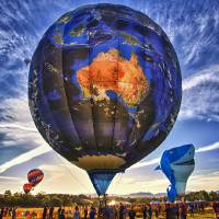Reno Hot Air Balloon Race Art Prints & Posters by Christopher Chan