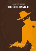 No202 My The Lone Ranger minimal movie poster
