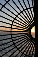 Sunset through Gate