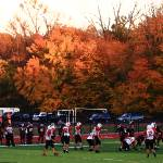 """Autumn Football with ""Dry Brush"" Effect"" by Ffooter"