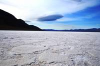 Clouds over Badwater Basin