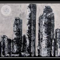 Houston Skyline Art Prints & Posters by Suzanne Theis