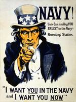 World War I 1914-1918: American recruitment poster