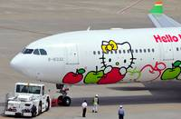 Hello Kitty A330 CloseUp