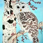 """Barred Owl"" by oenonehammersley"