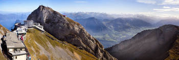 Panoramic View from Mt Pilatus