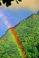 Rainbow Over the Seychelles