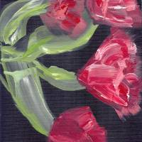 Roses Art Prints & Posters by Yolanda Berry