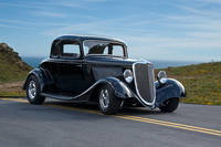 1934 Ford Coupe Blk 1