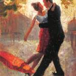 """Red Umbrella Romance II"" by ChristopherClark"