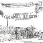 """Normal Heights San Diego California"" by RDRiccoboni"