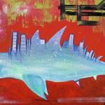 """""""Megalodon Metropolis"""" by ArtPrints"""