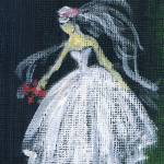 """The Bride,acrylic painting ,by Marie L."" by marieLsBalletArt"