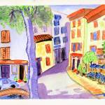 """A Quiet Tuscan Village"" by arlene72"