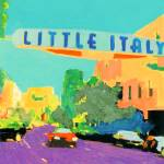 """Little Italy San Diego California"" by BeaconArtWorksCorporation"