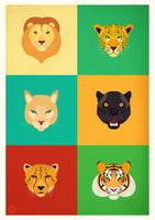 Felines  Personalities  Illustration
