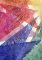 Bright Rainbow Angular Watercolor