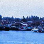 """Friday Harbor Panorama"" by netbrands"