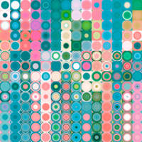 Circles and Squares 20. Modern Abstract Fine Art