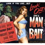 """Man Bait Vintage Movie Poster"" by jvorzimmer"
