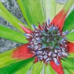 pineapple flower for Ed