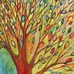 """Rainbow Tree in Autumn No 2"" by JENLO"