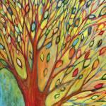 """Rainbow Tree in Autumn No 2"" by JENLO"