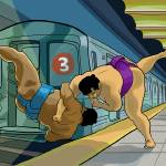 """Subway Sumo"" by josecabrera"