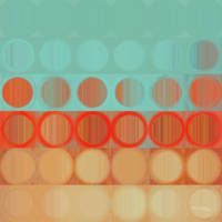 Circles and Squares 23. Modern Abstract Fine Art