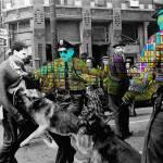 """Police & Masks"" by taudalpoi"