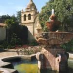 """Carmet Mission in Fountain"" by worldwidearchive"