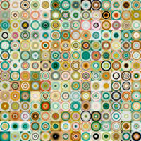 Circles and Squares 28. Modern Abstract Fine Art