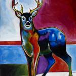 """Deer in Snow"" by SteveWillgren"