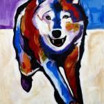 """Running Wolf"" by SteveWillgren"