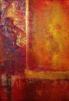 Philip Bowman Color Fields Red Orange Yellow Gold