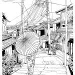 """Kyoto - old city"" by matokun"