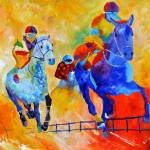 """Horse race"" by pol"