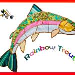 """Rainbow Trout"" by ssleggett"
